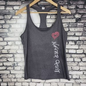 Alo Yoga Tank Never Quit Small